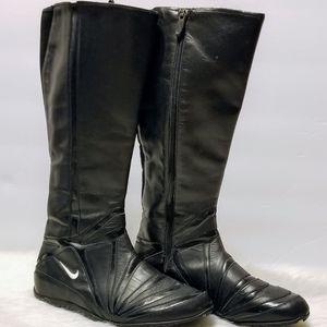 Nike High Zipper Riding Boots